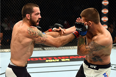 Matt Brown and Tim Means